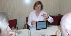 Angela Fechner stellt Prezi vor